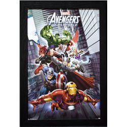 """Marvel Framed """"Avengers"""" Poster"""