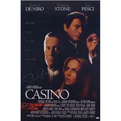 "Sharon Stone Signed ""Casino"" 24x36 Movie Poster (PSA COA)"