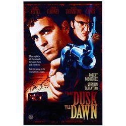 "Tom Savini Signed ""From Dusk Till Dawn"" 11x17 Movie Poster Photo (Legends COA)"