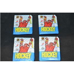 Unwrapped O-Pee-Chee Hockey Card Packs (4)