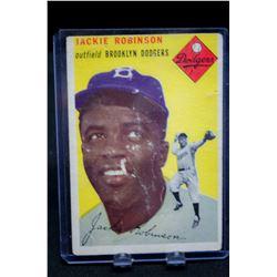 Jackie Robinson Topps Baseball Card