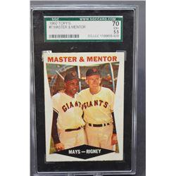 1960 Topps Master & Mentor #7 - EX+