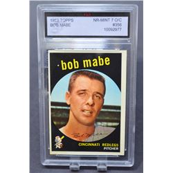 1959 Topps #356 Bob Mabe RC - NM
