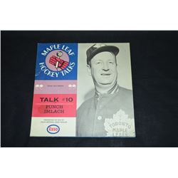 1966-67 Maple Leafs Hockey Talks #10 Punch Imlach