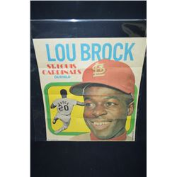 3- 1970's Topps Posters