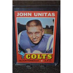 1971 Topps #1 Johnny Unitas