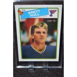 1988-89 O-Pee-Chee #66 Brett Hull RC
