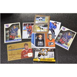 8-Assorted Hockey Cards - High Grade!