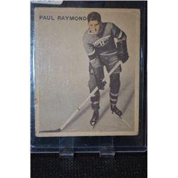 1933-34 V357 Ice Kings #18 Paul Raymond RC