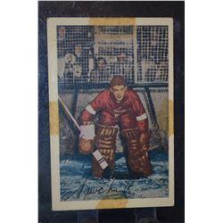 1952-53 Parkhurst #86 Terry Sawchuk