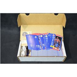 Box of 1991-92 Fleer Basketball Cards (Unknown if complete)