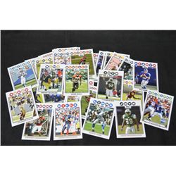 Topps Football Card lot