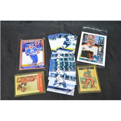 Misc Hockey card lot (Plante & Worsley are reprints)
