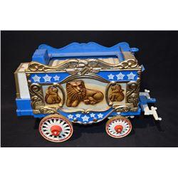 James Beam Circus Wagon Decanter
