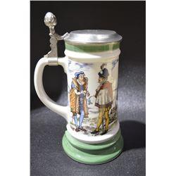 Vintage collectible Beer Steins