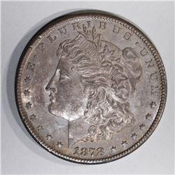 1878-S MORGAN DOLLAR, 1OO%  ORIG. GEM BU COLORS