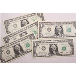 1963 A $1 Federal Reserve Notes