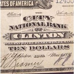 1902 S10 National Currency