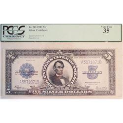 1923 $5 Silver Certificate