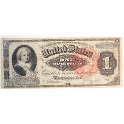 1886 $1 Silver Certificate