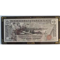 1896 $1 US Currency Note