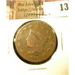 1832 U.S. Large Cent, Good.