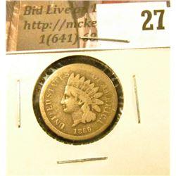 1860 U.S. Indian Cent, Good.