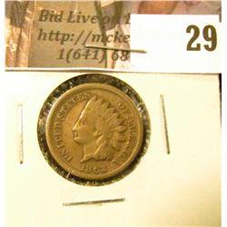 1862 U.S. Indian Cent, Good.