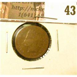 1868 U.S. Indian Head Cent, AG-G.