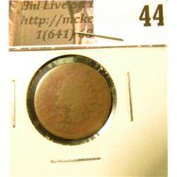 1869 U.S. Indian Head Cent, Fair-AG.
