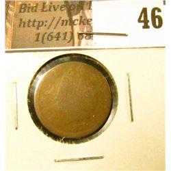 1870 U.S. Indian Head Cent, Fair.
