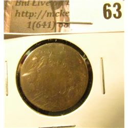 1871 U.S. Two Cent Piece. AG.