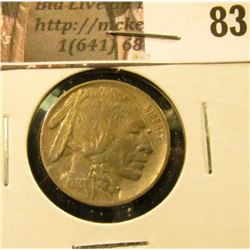 1913 P Type One Buffalo Nickel, EF.