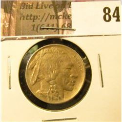 1913 D Type One Buffalo Nickel, EF.