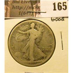 1917 Reverse S Mintmark, Good.
