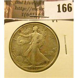 1917 Reverse S Mintmark, VF.