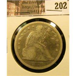 1870 P U.S. Seated Liberty Dollar, VG.