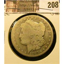 1883 CC Morgan Silver Dollar, Good.