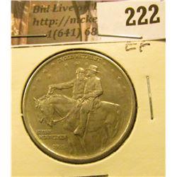 1925 Stone Mountain  Commemorative Half Dollar, EF.