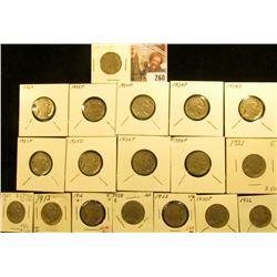 1913P T.1, 16D, 17P, 20P, 21P, 23P, 24P, 25D, 26P, 27P, 28P, 29P, D, S, 30P, 34P, 35P, & 36 D Buffal