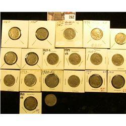 1913P T.1, 13S T.1, 18P, 19P, D, 20P, S, 23P, 26P, 27P, 28P, 29P, D, S, 34P, 35P, 36P, D, & 37D Buff