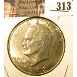 1972 D Eisenhower Dollar, BU.