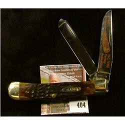 Case XX 1983 N.C. Wild Turkey Federation 2 blade commemorative knife, #225 of 300, decorated blade,