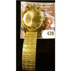 Vintage Bulova Sea King watch, N0, A46070. Winds, runs, keeps time.