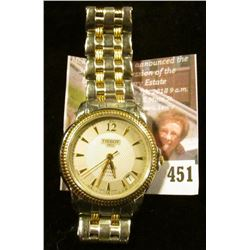 "Tissot ""Ballade"" C279/379C 25 jewel automatic men's wristwatch. Runs and keeps time, nice dress watc"