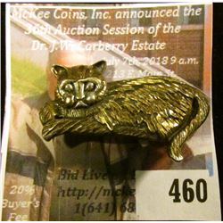 "Know a ""Crazy Cat Lady""? Well, here's a pin she can wear as a badge of honor, or possibly as a magne"