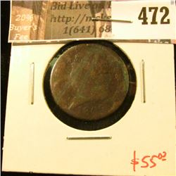 1809 Half Cent, value $55