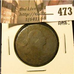 1798 Large Cent, G, full date Value $100