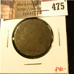 1803 Large Cent, AG, $40