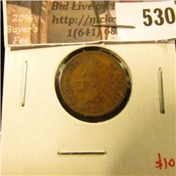1883 Indian Head Cent, VF, value $10